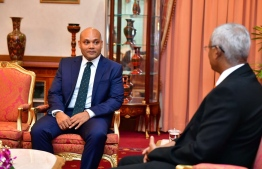 The recently appointed Chief Communications Strategist at the President's Office and the official spokesperson of President Ibrahim Mohamed Solih. PHOTO: Ahmed Hamdhoon