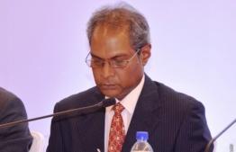 Telecom giant Dhiraagu's recently appointed Chairman Ismail Waheed. PHOTO: AHMED HAMDHOON/MIHAARU