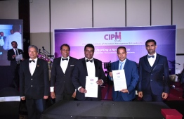 During the agreement signing ceremony between MAHRP and CIPM. PHOTO: MAHRP