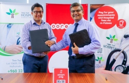 Tree Top Hospital payments can now be made through Ooredoo's m-Faisaa application. PHOTO: OOREDOO