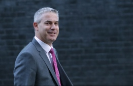 Britain's Secretary of State for Exiting the European Union (Brexit Minister) Stephen Barclay attends the weekly meeting of the cabinet at 10 Downing Street in London on December 4, 2018. (Photo by Daniel LEAL-OLIVAS / AFP)