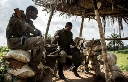 Soldiers in the Democratic Republic of Congo have been battling the ADF militant group in the restive east. PHOTO: AFP