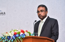 Anti Corruption Commission (ACC)'s Chief Hassan Luthfee resigned on Monday. PHOTO: HUSSAIN WAHEED / MIHAARU