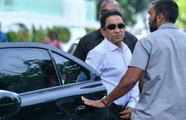 MALDIVES POLICE SUMMONS PRESIDENT ABDULLA YAMEEN