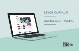 The Edition has opened for applications to fill the positions of Senior Journalist and Journalist-In-Training. IMAGE: MIHUSAN ABDUL GANEE / THE EDITION