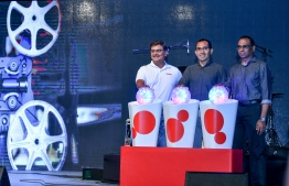 Ooredoo Maldives launches new Amazon Prime Video services at a special launching ceremony held at Hulhumale Central Park. PHOTO: NISHAN ALI/MIHAARU