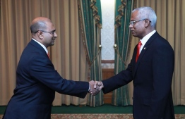 Abdulla Munaz (L), the newly appointed Commissioner of Prisons. FILE PHOTO/PRESIDENT'S OFFICE