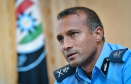 Acting Commissioner of Police Mohamed Hameed. PHOTO/MIHAARU