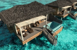 An overwater villa of You and Me Maldives by Cocoon. PHOTO/COCOON