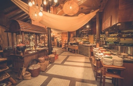The fabulous East Kitchen; a fusion of asian and western food and one of many gastronomical delights offered at LUX* South Ari Atoll. PHOTO: LUX*