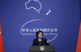 Chinese Foreign Ministry spokesperson Hua Chunying. PHOTO/REUTERS