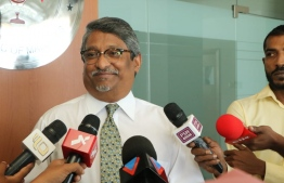 State Minister of Foreign Affairs Ahmed Haleel. PHOTO: HASSAN MOHAMED/ MIHAARU