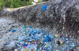 The issue of litter is also quite prevalent in Fuvahmulah, according to the NGO. PHOTO: ONE FUVAHMULAH / FACEBOOK