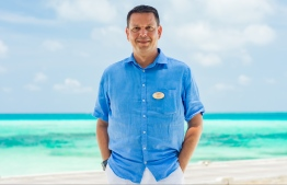Jonas Amstad, the General Manager for LUX* South Ari Maldives.  PHOTO: LUX*