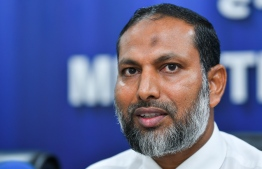 Minister of Home Affairs Imran Abdulla. PHOTO: NISHAN ALI/ MIHAARU