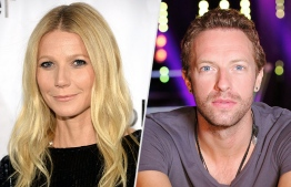 Gwenyth Paltrow and Chris Martin.