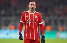 Former Bayern Munich winger Franck Ribery. PHOTO: AFP