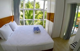 A suite room in Bliss Dhigurah. PHOTO: BLISS DHIGURAH