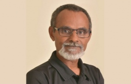 Veteran local diver Hussain Rasheed, popularly known as Sendi, was inducted into the 2019 International Scuba Diving Hall of Fame. PHOTO/ISDHF
