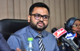 Immigration Controller Mohamed Ahmed Hussain. PHOTO: AHMED NISHAATH/MIHAARU