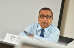Former Elections Commissioner Fuad Thaufeeq was greenlit by the parliament for reappointment into the Elections Commission (EC). PHOTO: HUSSAIN WAHEED / MIHAARU