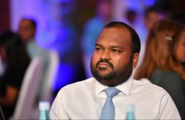Minister of Tourism Ali Waheed. PHOTO: HUSSAIN WAHEED