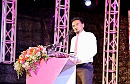 Newly appointed a spokesperson for the Maumoon Reform Movement (MRM) Thazmeel Abdul Samad. PHOTO: ASIMA NIZAR/ MIHAARU