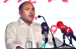 Former Vice President Dr Mohamed Jameel Ahmed. PHOTO: AHMED NISHATH / MIHAARU