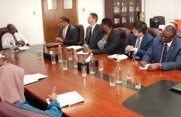 Commonwealth Assessment Team pays courtesy call on Minister of Foreign Affairs Abdulla Shahid