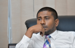 Minister of Youth, Sports and Community Empowerment Ahmed Mahloof. PHOTO: HUSSAIN WAHEED/ MIHAARU