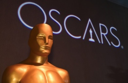 "(FILES) In this file photo taken on February 4, 2019, an Oscar statue at the 91st Oscars Nominees Luncheon  in Beverly Hills. - The upcoming Academy Awards, the biggest night in Hollywood, will take place this year without a host for the first time in three decades, organizers said on February 5, 2019. ""We can confirm that there will be no host,"" a spokesperson from the Academy of Motion Pictures Arts and Sciences told AFP without elaborating. (Photo by Robyn BECK / AFP)"
