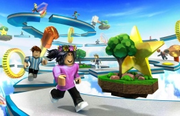 Promo of Roblox, an online gaming app. IMAGE/ROBLOX