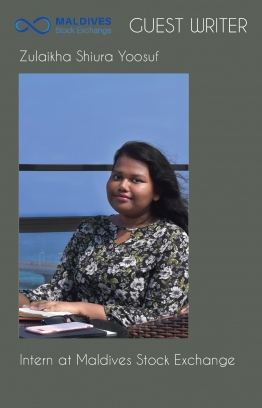 Zulaikha Shiura Yoosuf is an Intern at Maldives Stock Exchange Company Pvt Ltd. PHOTO: MSE/THE EDITION