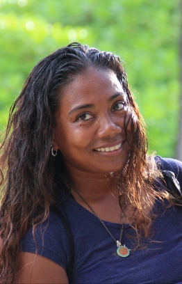 "Shaziya ""Saazu"" Saeed of the Stand Up for Our Seas team. PHOTO/STAND UP FOR OUR SEAS"