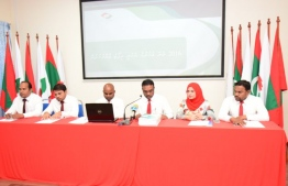 Members of the Anti-Corruption Commission. PHOTO: ANTI-CORRUPTION COMMISSION