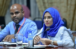 Members of the Anti Corruption Commission. PHOTO: NISHAN ALI/ MIHAARU