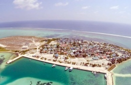 The island of Thulhaadhoo, Baa Atoll. PHOTO: THULHAADHOO COUNCIL