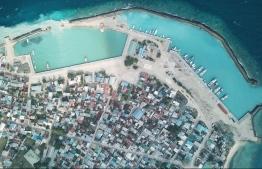 An aerial view of Naifaru, Lhaviyani Atoll. PHOTO: LHAVIYANI NAIFARU COUNCIL / FACEBOOK