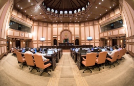 Inside the chambers of the People's Parliament. PHOTO: PARLIAMENT