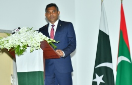 Vice-President Faisal Naseem. PHOTO: PRESIDENT'S OFFICE
