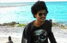 Mohamed Fazeel who was arrested on Tuesday night in relation to the kidnapping in Gan, Laamu Atoll. PHOTO: MIHAARU FILES