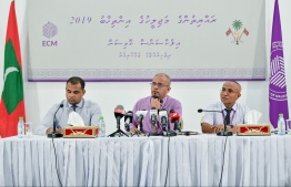 ELECTIONS COMMISSION PRESS CONFERENCE MAJILIS ELECTION 2019