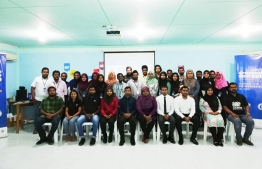 Youth Entrepreneurs Forum held by Maldives Monetary Authority (MMA) to mark Global Money Week. PHOTO: MMA