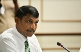 Villufushi MP Riyaz Rasheed. PHOTO: MIHAARU FILES