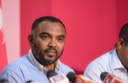 Kelaa MP Ali Arif. PHOTO: MIHAARU FILES