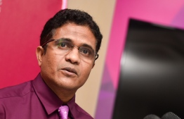 Former leader of PPM's parliamentary group and former Villimale' MP Ahmed Nihan Manik. PHOTO: MIHAARU FILES