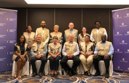 The team of Commonwealth observers sent to monitor the 2019 parliamentary election. PHOTO: COMMONWEALTH