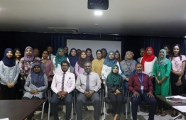 Participants of the stakeholder consultation workshop on the Sixth National Report of Maldives to the UN Convention on Biological Diversity
