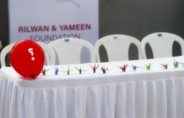 The families of murdered blogger Yameen Rasheed and missing journalist plan to launch the 'Rilwan and Yameen Foundation'. PHOTO: AHMED AIHAM / THE EDITION