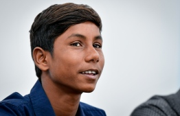 Slingshot Maldivian Ambassador Hassan Mahir. PHOTO: NISHAN ALI / MIHAARU